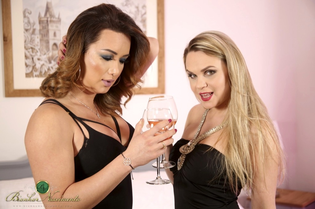 Bianka Destroys A Provocative Girl After A Couple Of Drinks