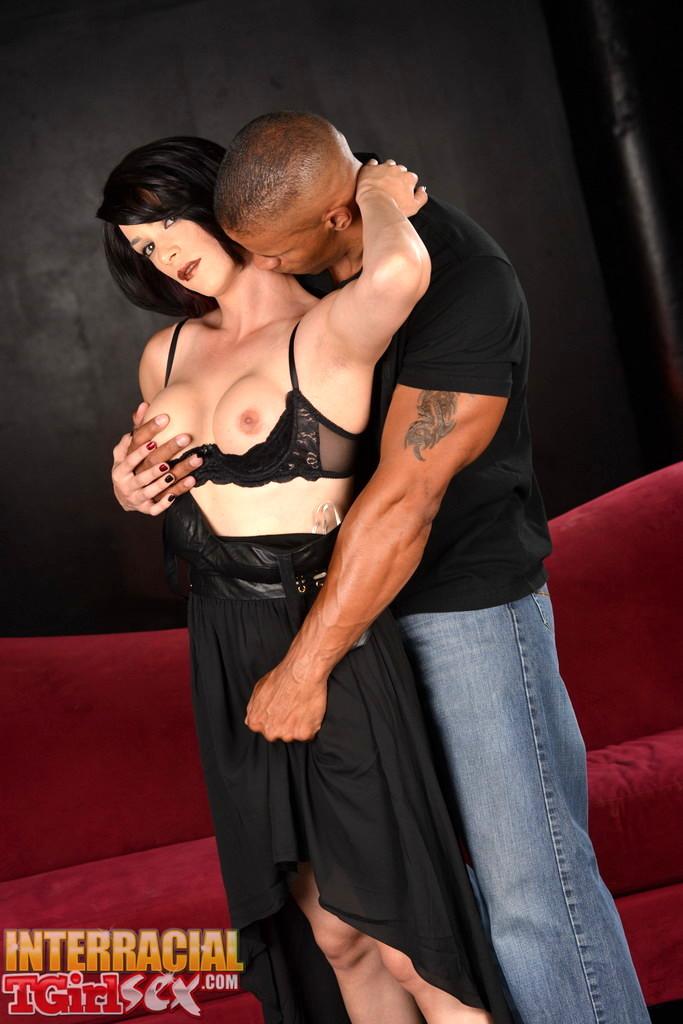 Seductive Nina Rides A Enormous Black Tool