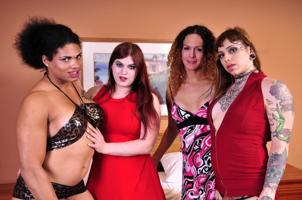 Super Banging Seductive T Orgy From Tiffany And Friends!