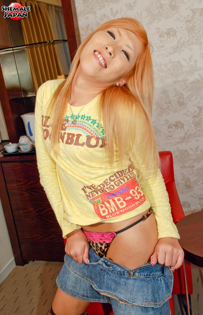 T-Girl Japan: Kana - Flirty And Fun Newhalf!