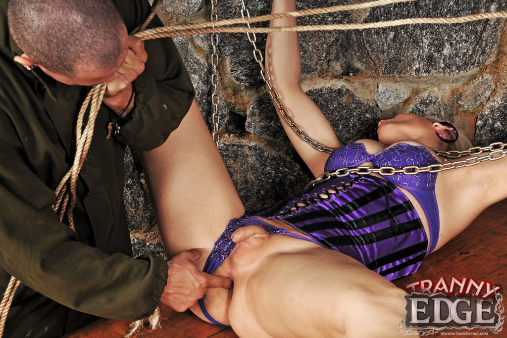 Watch This Tgirl Get Used And Abused