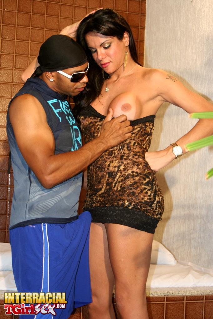Yummy Gabriela Taking A Massive Black Penis